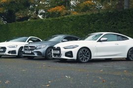 German Lux Coupe vying head-on: BMW's 4-Series Battles Audi A5 and Merc's C-Class