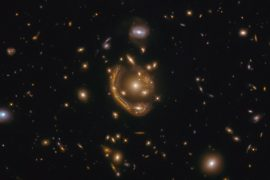 """One of Einstein's largest and most complete episodes ever.  Astronomers call it a """"molten ring."""""""