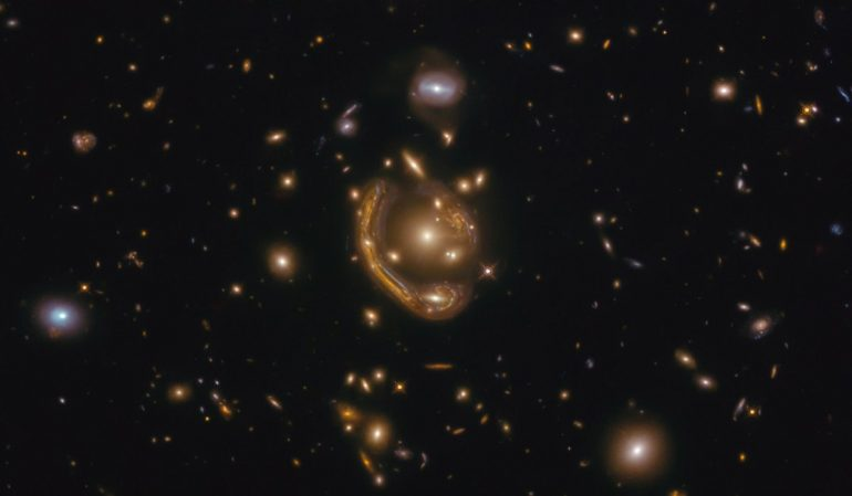 "One of Einstein's largest and most complete episodes ever.  Astronomers call it a ""molten ring."""