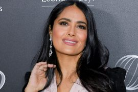Salma Hayek, 54, dazzles in a purple bikini and reveals what she is grateful for before the new year