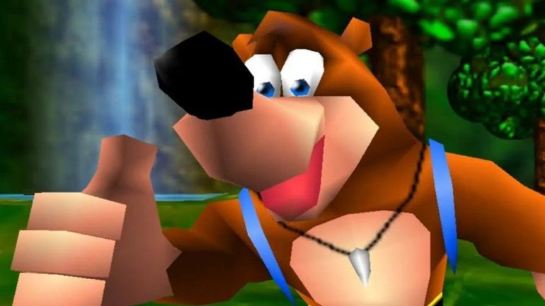 Random: Flick the Wii U, it's time for some Banjo-Kazooie and Blast Corps