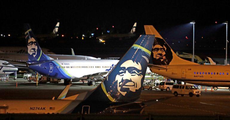 Alaska Airlines stresses emotional support animals on flights
