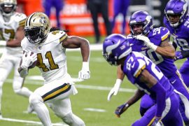 The Saints Team Alvin Camara ties a NFL record with six quick relegations