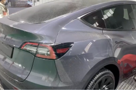 First look at the Tesla Y model made in China