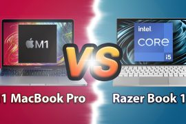 Comparison: M1 MacBook Pro vs Razer Book 13