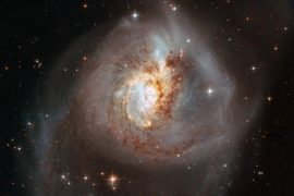 The Hubble Telescope reveals rare and fascinating scenes of the collision of six different galaxies