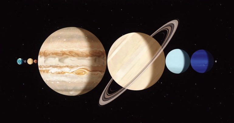 How do you see Mercury, Jupiter and Saturn in a rare coincidence this weekend