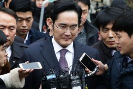 Samsung CEO is sentenced to 30 months in prison for bribery