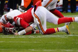 AFC Championship match: Patrick Mahomez, the team captain, suffers from a change of nerves