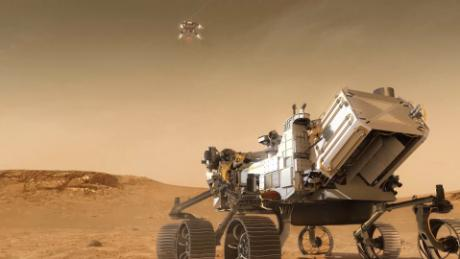 After & # 39;  7 minutes of terror & # 39;  NASA endurance vehicle will embark on an epic journey.  On Mars next month