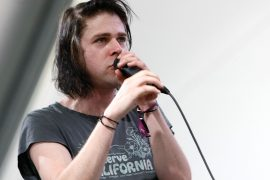 Ariel Pink shot down the record company after attending a pro-Trump rally