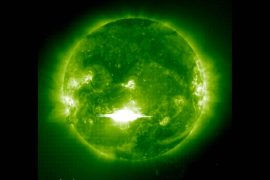 Bad Astronomy |  A solar flare in AD 774 changed the chemistry of Earth's atmosphere