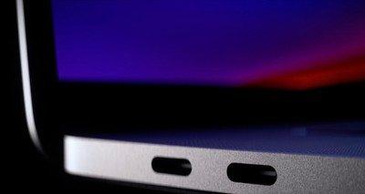 MacBook Pro 16 inch lightning bolt