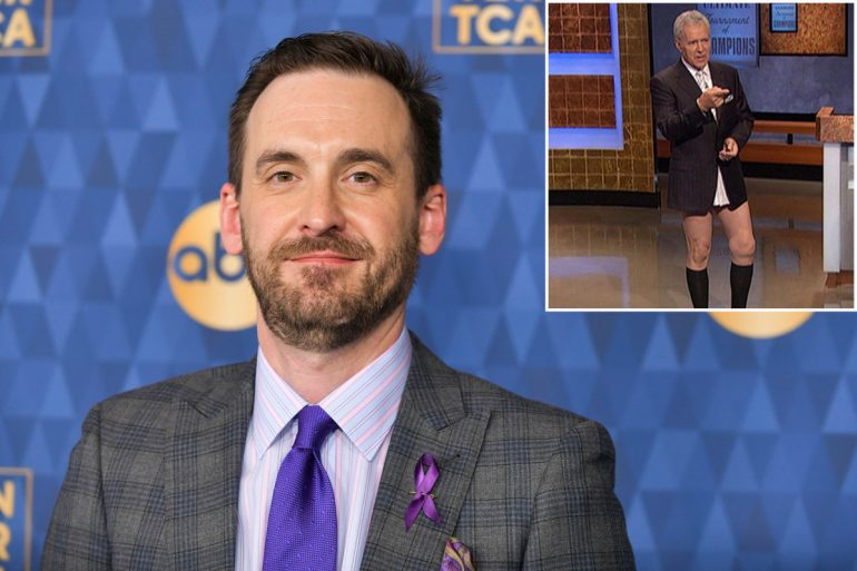 Brad Ratter remembers Alex Trebek without pants in Jeopardy!