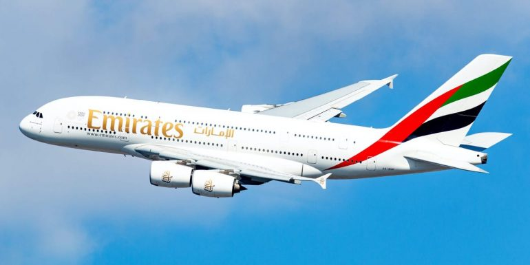 Emirates unveils high-end design for the new Airbus A380 aircraft;  Distinguished economy