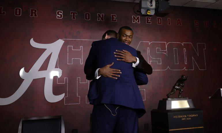 How Alabama Team Members Responded to Devonta Smith's Winning Heisman