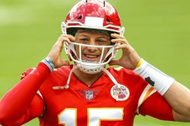 Kansas City, QB Chairman Patrick Mahomes, is still in concussion protocol, in training again on Friday