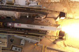 Northrop Grumman test fires a solid engine ULA Vulcan missile