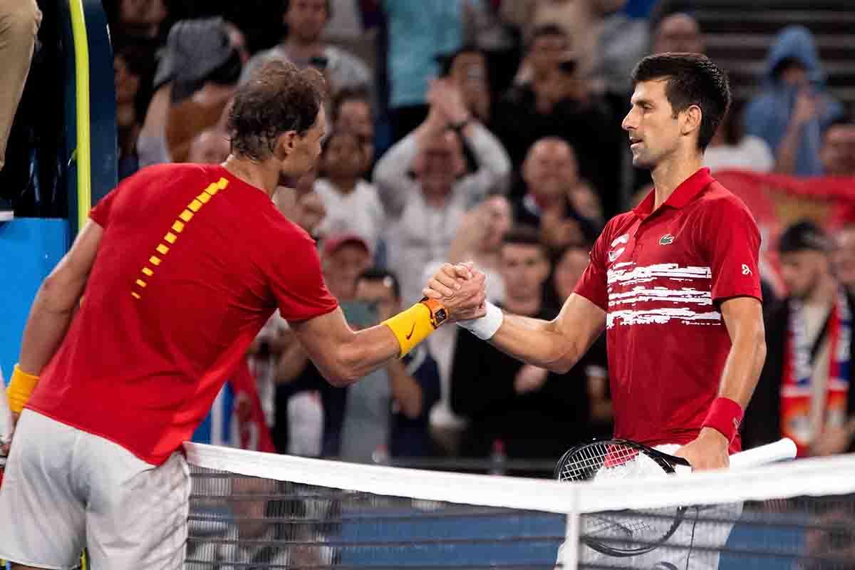 Nadal, Joker, Tim!  This is how the ATP Cup begins
