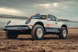 The latest Porsche 911 from the singer is a baja-ready twin-turbo beast