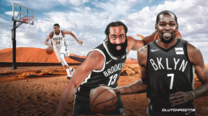 Nets, James Harden, Kevin Durant, Giannis Anticonmou