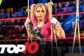 WWE RAW viewers with Asuka vs Alexa Bliss Main Event
