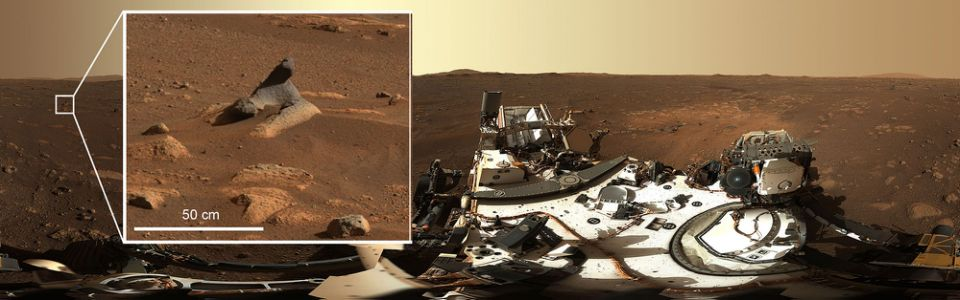 This HD 360 ° photo was taken by Mastcam.  Published by NASA (Photo: NASA / JPL-Caltech / MSSS / ASU)