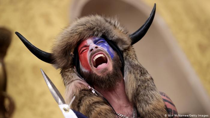 A Viking intruder on the US Capitol