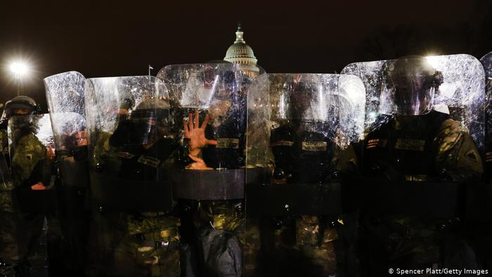 United States of America |  Presidential elections |  Protesters at the Capitol