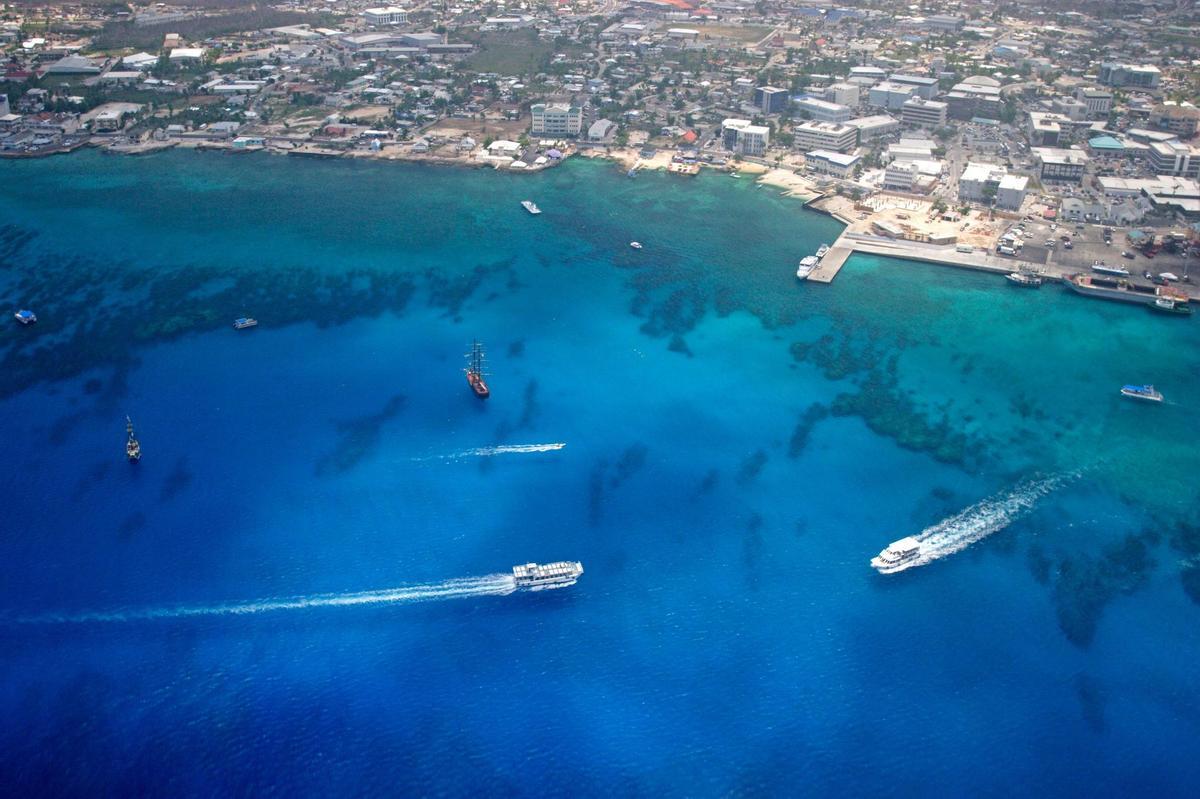 Cayman Islands: a popular tax haven.