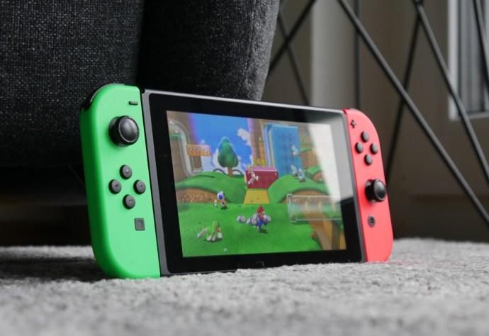 Nintendo Switch Super Mario World 3D Head