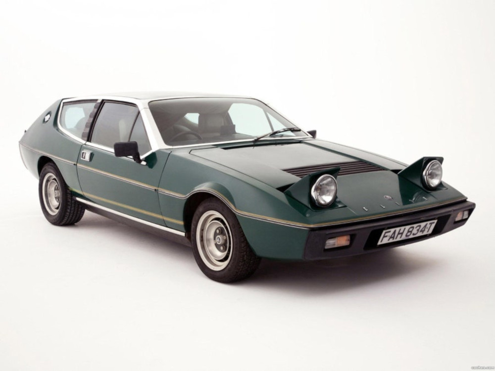 Lotus Elite is one of the most beautiful cars in the world.