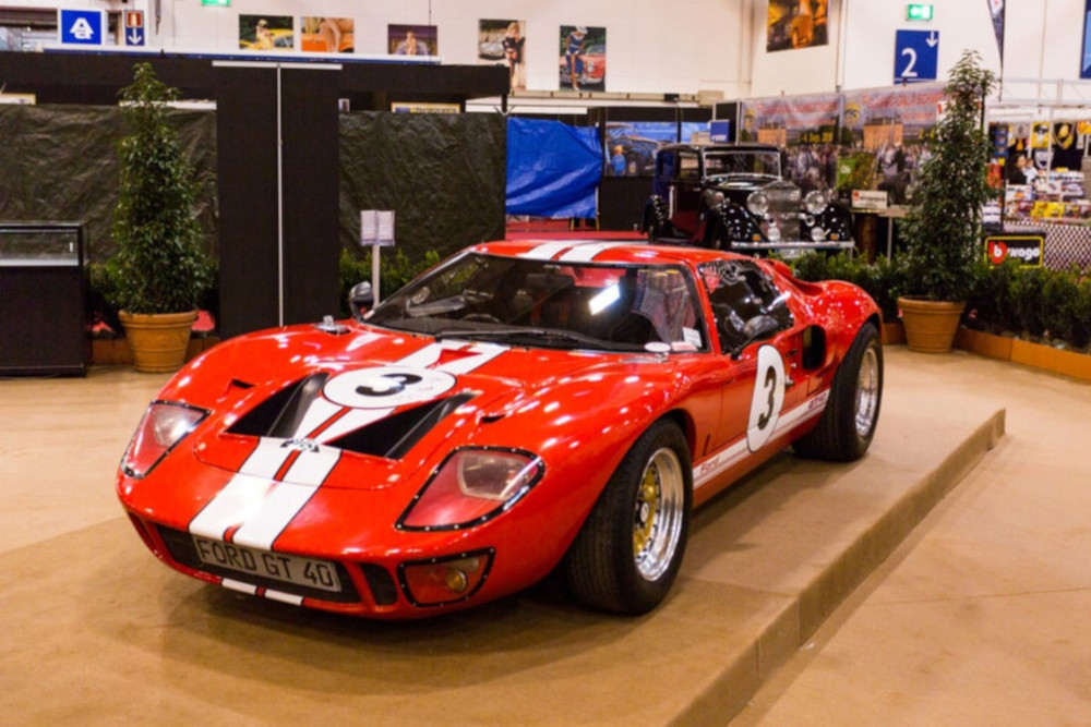 The 1964 Ford GT40 is one of the most beautiful cars in the world.