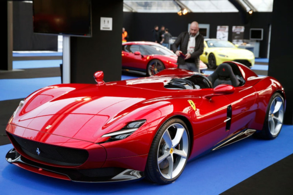 According to science, the Ferrari Monza SP1 is the most beautiful car in the world.