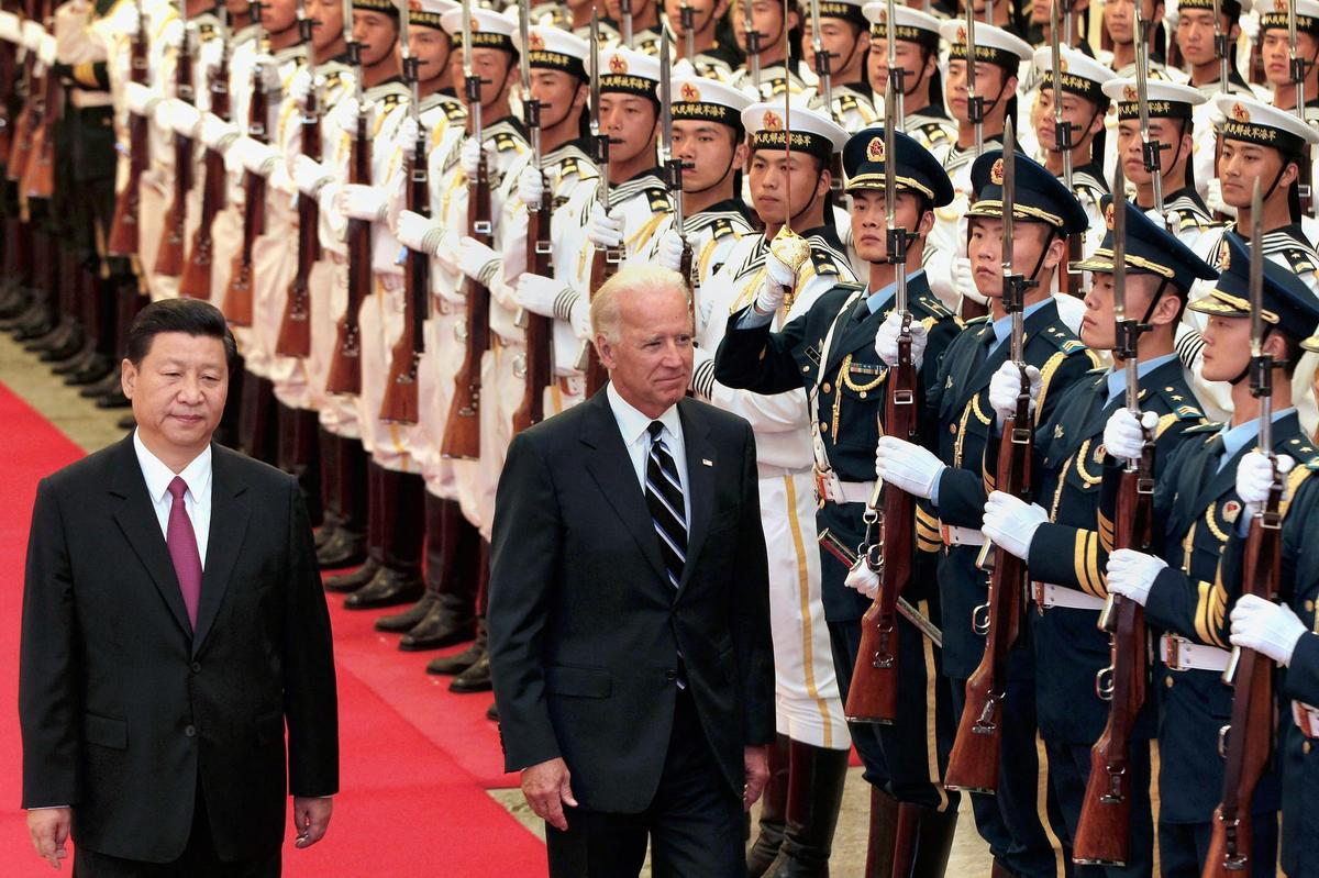 Competition, cooperation and enmity - depending on the situation: Chinese President Xi Jinping and Joe Biden, still here as Vice President of the United States, in Beijing (August 2011).
