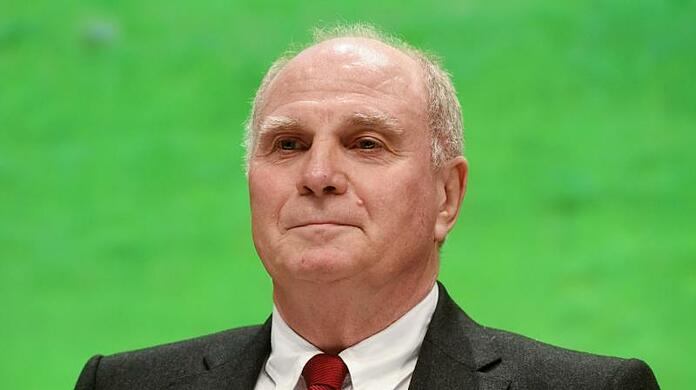 Uli Hoeness, long-time president of Bayern Munich.