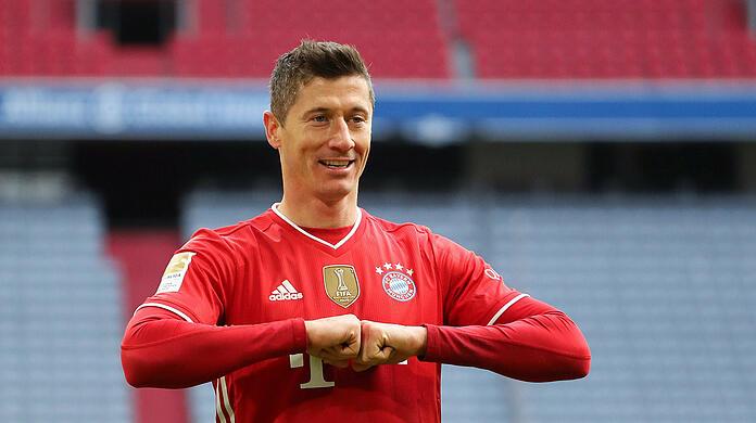 Indispensable for Bayern Munich: world footballer Robert Lewandowski