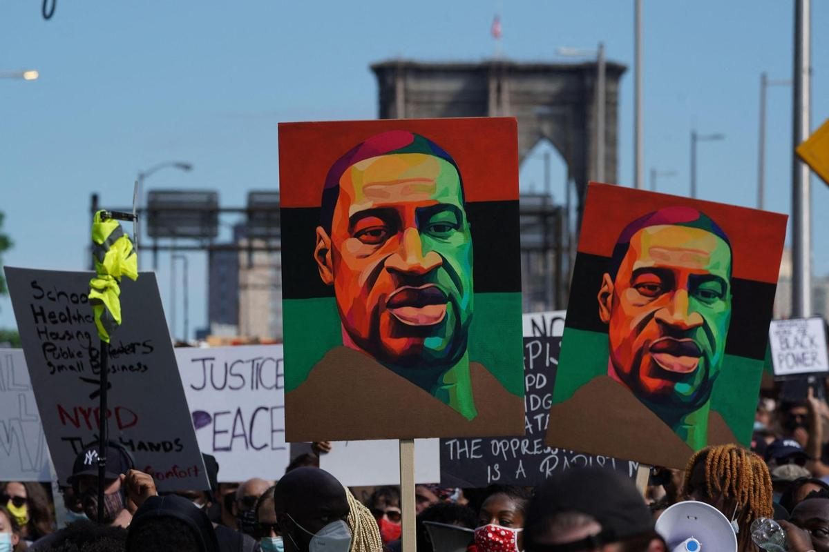 They Want Justice After the Death of George Floyd: The Protesters in New York.  Photography: Brian R.  Smith (AFP)