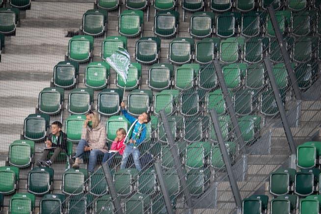The last spectators were allowed: October 4, 2020, in the match between St. Gallen and Servet.