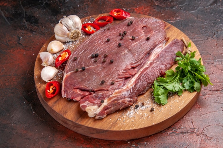 Avoid red meat, soft drinks and saturated fats
