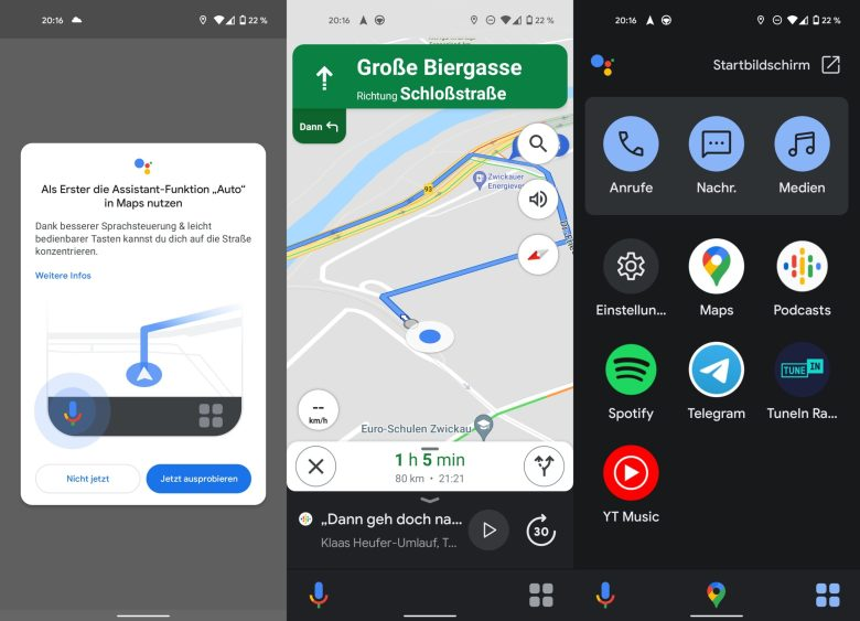 Assistant Driving Mode - Automatic Google Maps