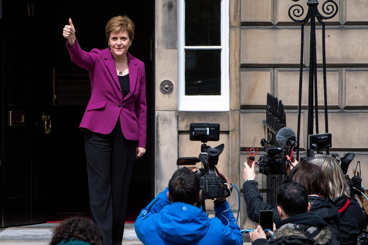 Scotland Winner: Nicola Sturgeon's Scottish National Party plans to hold a new referendum on Scottish independence.