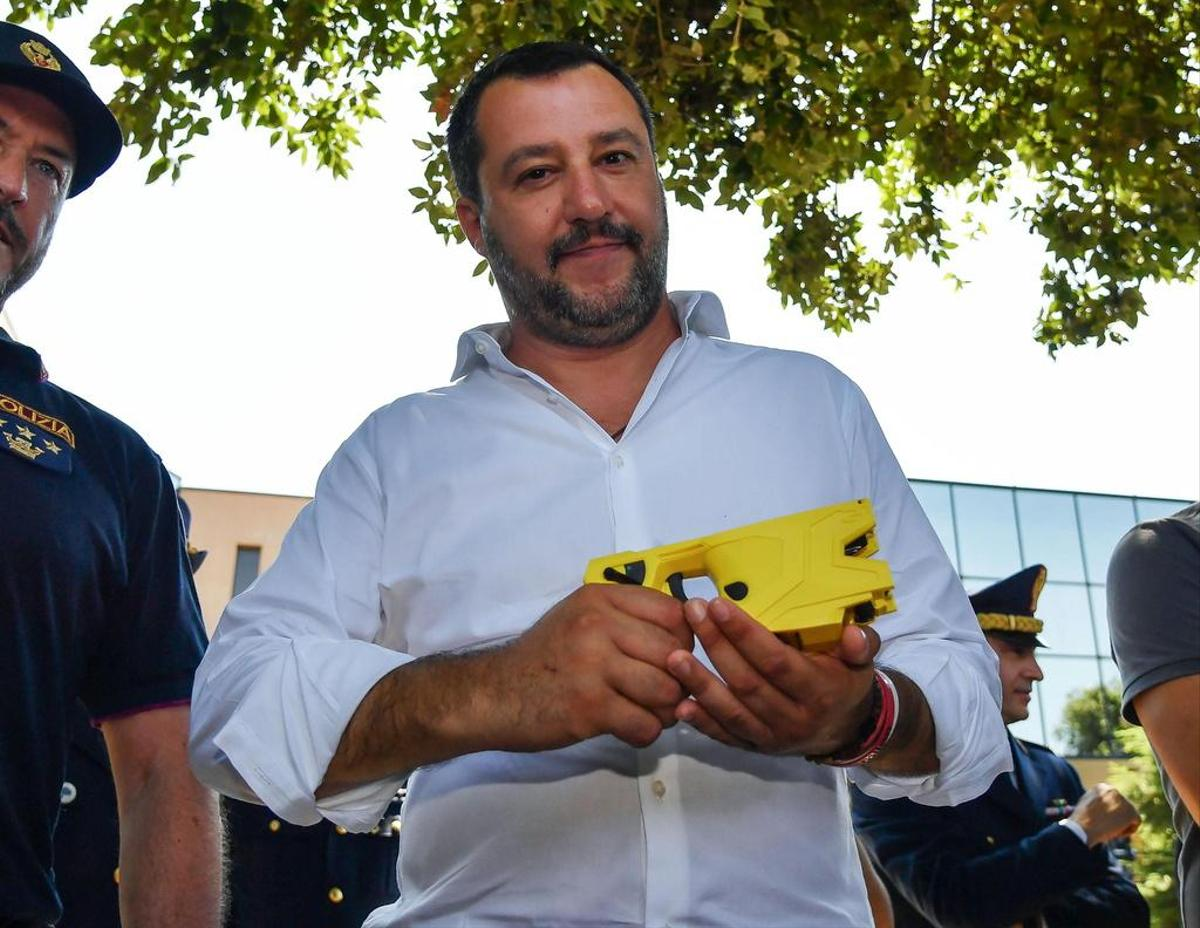 Critic of the Sea-Watch missions: Ex-Minister of the Interior Matteo Salvini.