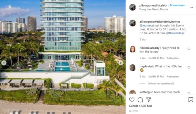 Lionel Messi Miami Apartment