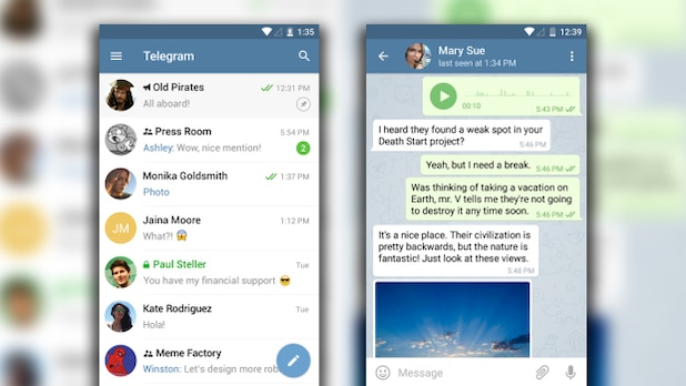 Telegram: Can be used on many platforms.