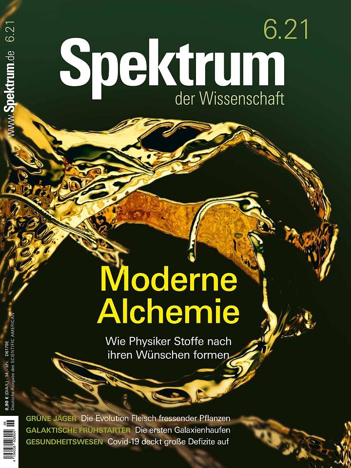 Cover of the Spectrum of Science 6/2021 Handbook