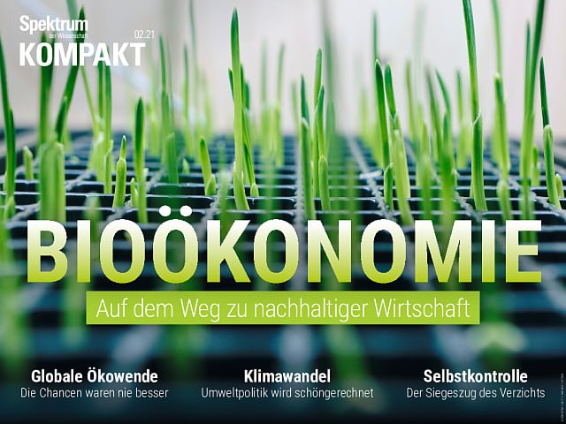 Spectrum in Brief: Bioeconomy - on the road to a sustainable economy