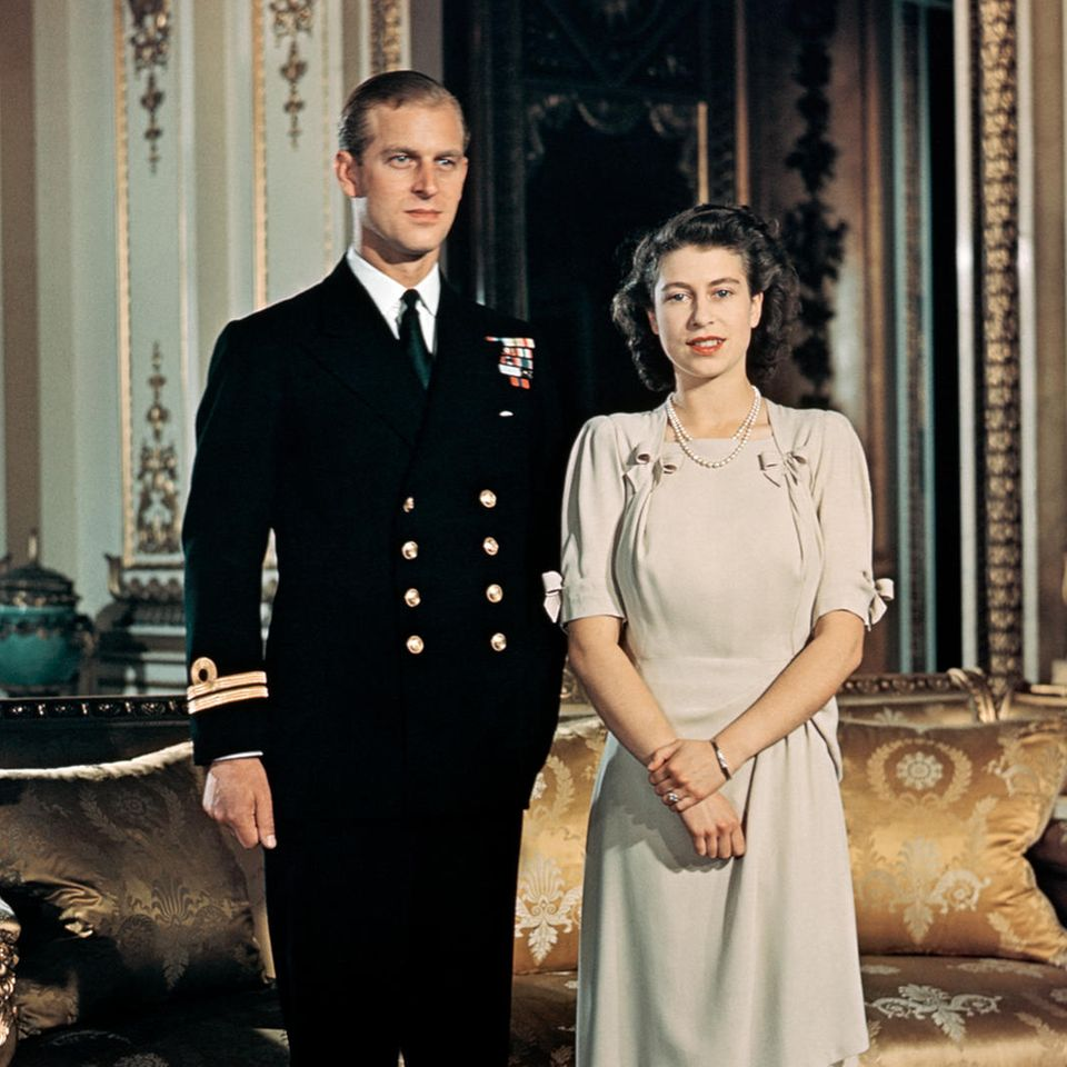 Prince Philip and Queen Elizabeth - Philip Mountbatten and Princess Elizabeth at the time this photo was taken - were married on November 20, 1947.