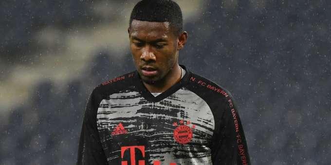 David Alaba Bayern Munich