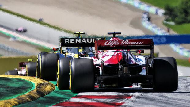 Start - Formula 1 - Austrian Grand Prix - Spielberg - 5 July 2020